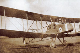 Photo: Royal Aircraft Factory FE2
